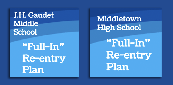Re-entry Plan Middle & High School